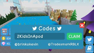 FREE CODES to get LOTS of Free Gems for ROBLOX Unboxing Simulator Game by @teamunsquared ❤️