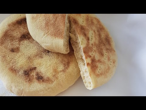 🔝 Receta Del PAN MARROQUÍ Básico Y Tradicional (SIN HORNO)