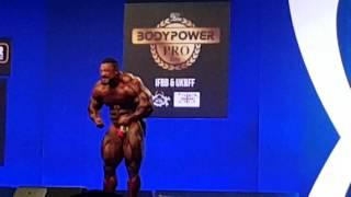 """2016 IFBB Bodypower Pro Show Winner """"Roelly Winklaar"""" Posedown"""
