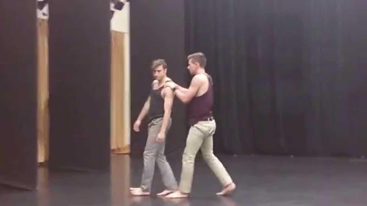 Dance Yourself Clean Contemporary Male Duet Youtube