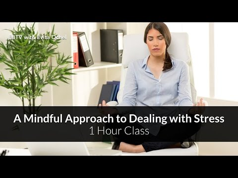 A  Mindful Approach to Dealing with Stress + 20 Solution Tips  – 1 Hour Class