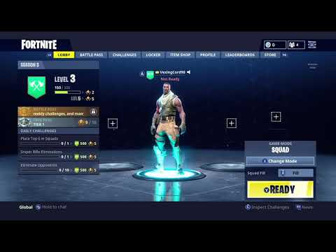 Fortnite Battle Royale Season 1/2 Lobby Music *extended*