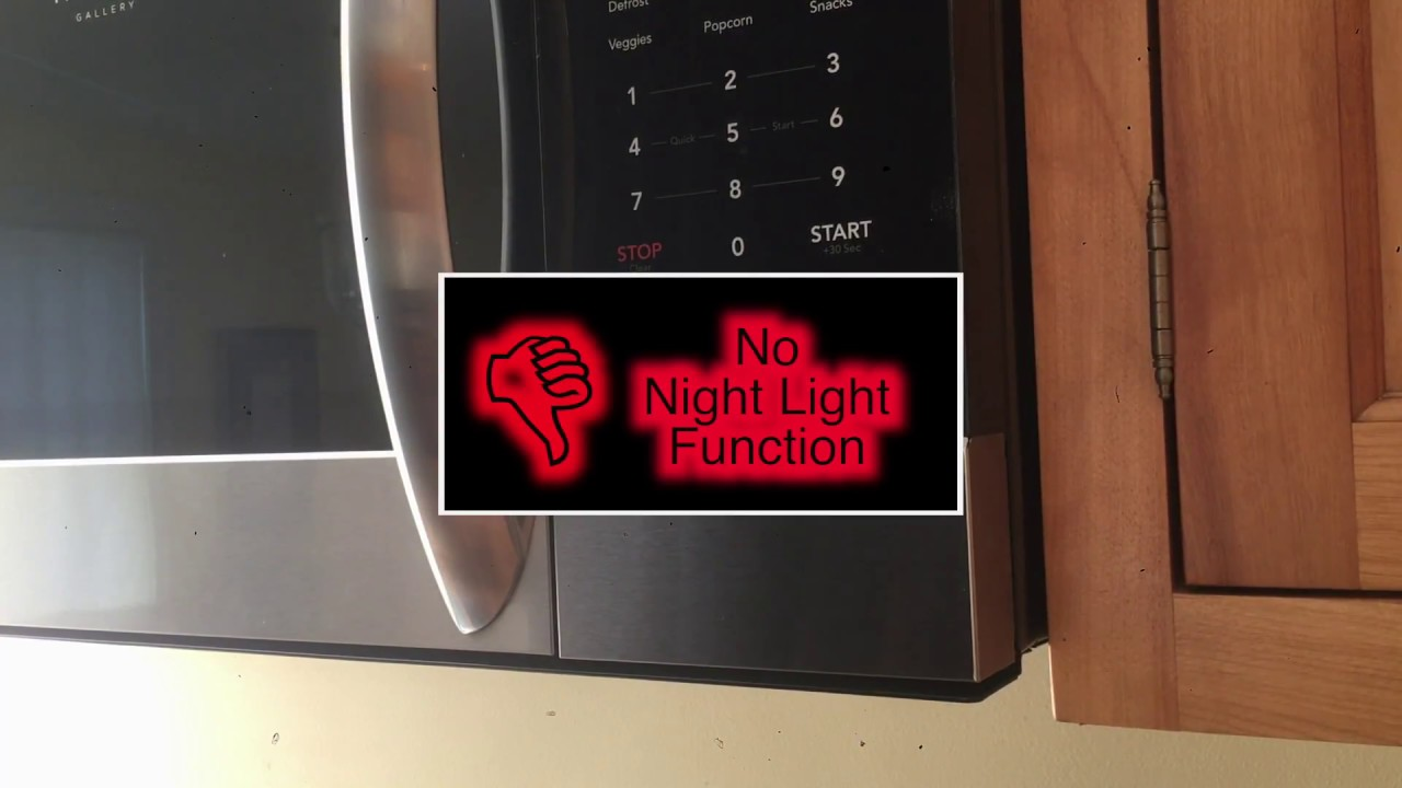 Frigidaire Gallery Microwave Review And
