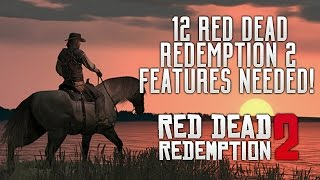 Red Dead Redemption 2 - 12 New Gameplay Features We Need in RDR2! (Gang Heists, Brothels & Stealth)