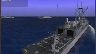 Хардкорный Симулятор Современного Военного Корабля класса Фрегат ! Боевой Флот США Ч.2