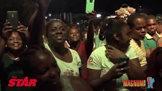 MAGNUM STAR LIVE: Entertainers electrify Lucea