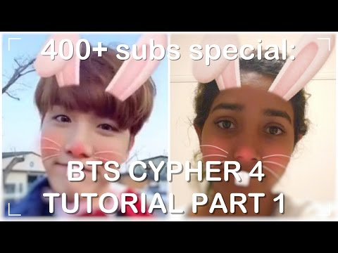 방탄소년단 (BTS) - BTS CYPHER 4 TUTORIAL PART 1