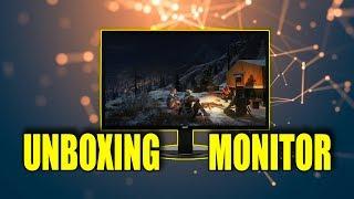 unboxing Monitor AOC LED 21.5 Polegadas e2270Swn
