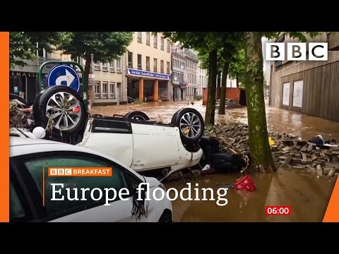 Germany: Merkel vows support after dozens killed in floods @BBC News live 🔴 BBC