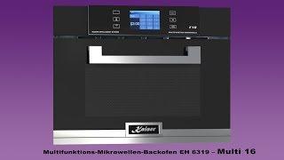 Kaiser Multifunktions-Mikrowellen-Backofen EH 6319 – Multi 16