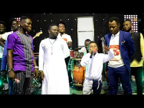 KUMAWOOD ACTOR DABO, STORMS THE STAGE @ NYAME NE HENE ALBUM LAUNCH BY BROTHER SAMMY