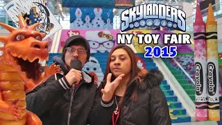 Mom & Dad search for all things Skylanders! The 2015 New York Toy Fair Hunt!