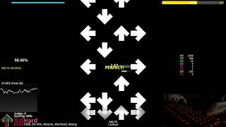StepMania: DIE NOW 1.3x - 98.20% AA live play