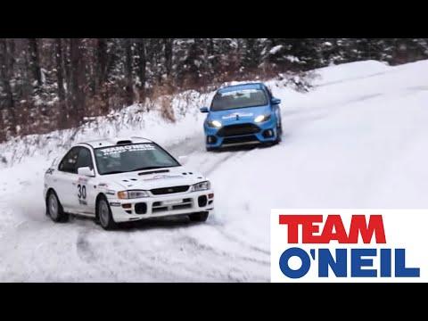 2016 Ford Focus RS vs Subaru STI Powered Rally Car