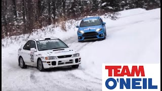2016 Ford Focus RS vs Subaru STI Powered Rally Car