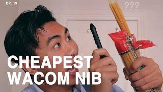 Spaghetti for Wacom Tablet Nib?!