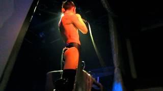 Arca +Jesse Kanda live at Bowery Ballroom 4/8/2015 Track:Siner from Mutant
