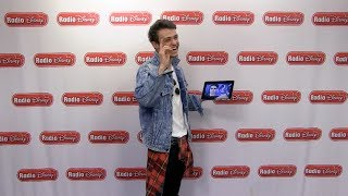 Thomas Doherty watches Cameron Boyce's Bad Pirate Joke | Descendants 2 | Radio Disney