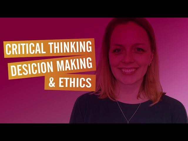 Executive Program Speaker - Alix Rubsaam - Critical Thinking, Decision Making & Ethics
