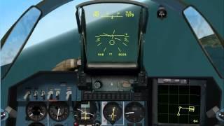 Su-27 vs 2 F-16. Su-27 Flanker 2.5