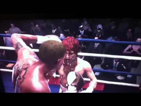 Fight night champion Chris Brown Vs Rihanna