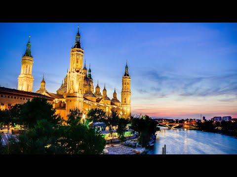 One day in Zaragoza, Spain