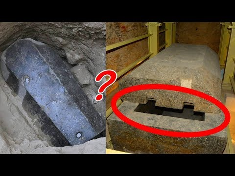 30 Ton Black Sarcophagus Discovered in Alexandria, Egypt - Ancient Egyptian Mummy