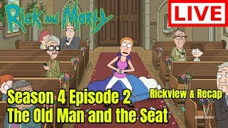 Rick and Morty Season 4 Episode 2 - Rickview & Recap | The Old Man In The Seat