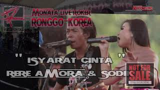 Download Mp3 Rere Amora Feat Sodik - Isyarat Cinta  Om Monata Roker 2016