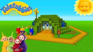 "Minecraft Tutorial: How To Make The Teletubbies House ""Teletubbies"""