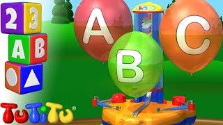 Изучение английского алфавита | воздушный шар | TuTiTu дошкольный