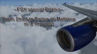 !!MUST SEE!! ++SPECIAL EDITION++ [HD+] full flight IBIZA to MALLORCA