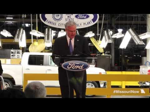 Gov. Nixon announces additional shift at Ford's Kansas City Assembly Plant