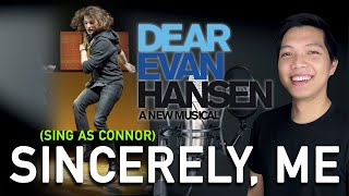 Sincerely, Me (Evan/Jared Part Only - Karaoke) - Dear Evan Hansen