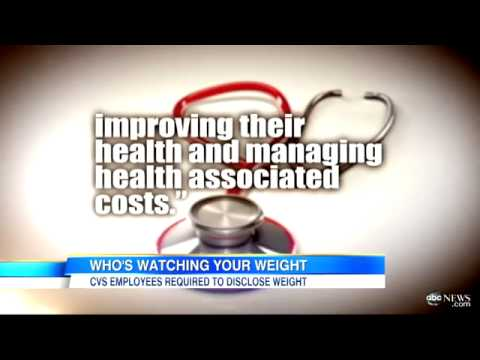 CVS Health Insurance Weight Disclosure Requirement Employees Must Report Weight For Insurance