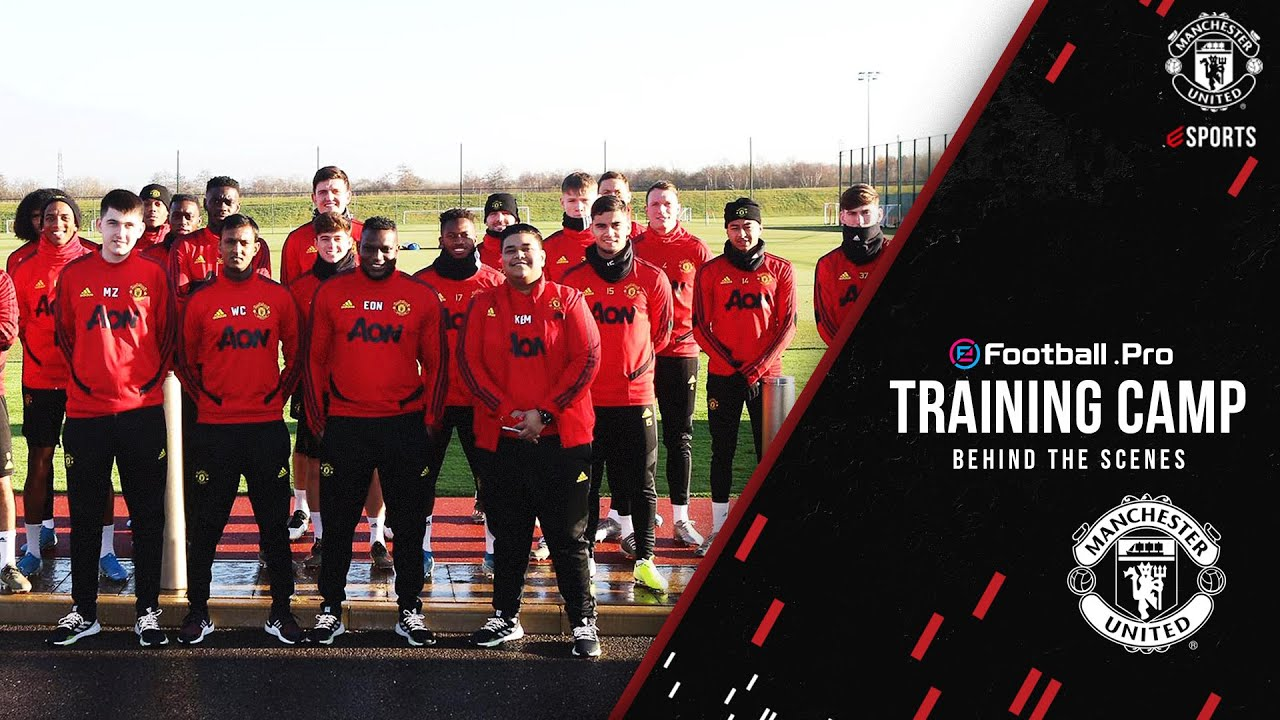 Manchester United esports | Training Camp Behind The Scenes | eFootball.Pro | eFootball PES2020