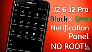 How to Change Android Notification Bar with any version (No Root)