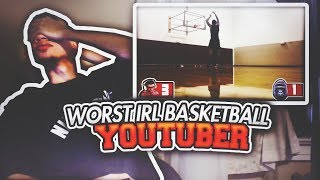 REACTING TO THE WORST IRL BASKETBALL YOUTUBER BEHIND FLIGHTREACTS! NADEXE 1V1 REACTION VIDEO!