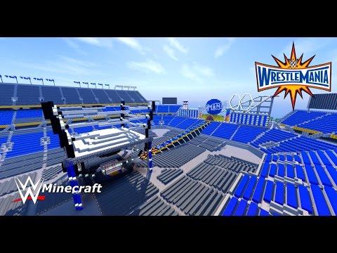 WWE: Minecraft [WrestleMania 33] + (Download Link)
