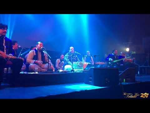 Tere Mast Mast Do Nain Ustad Rahat Fateh Ali Khan Live Performance In Las Vegas Usa Youtube