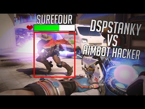 OVERWATCH BEST LUCIO IN THE WORLD DSPSTANKY VS INSANE AIMBOT HACKERS
