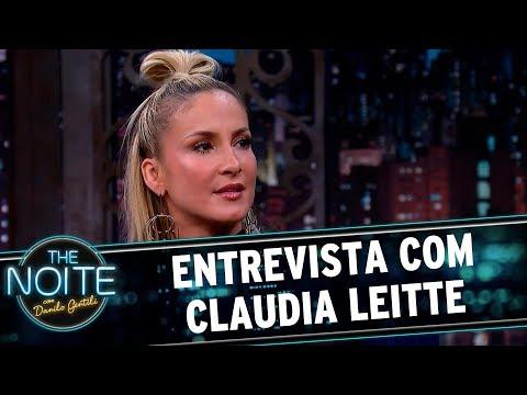 Entrevista com Claudia Leitte  The Noite 250917