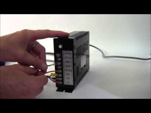 pc power supply hookup