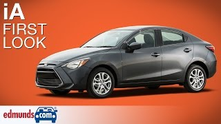 2016 Scion iA First Look | New York Auto Show