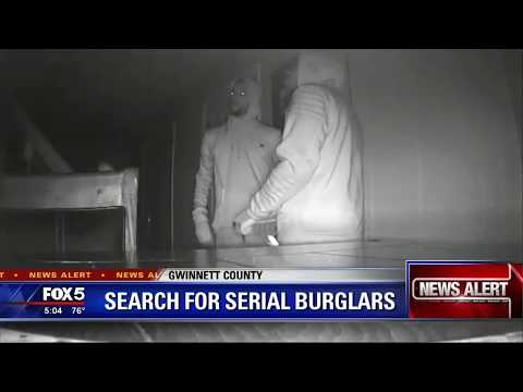 Gwinnett County search for serial burglars