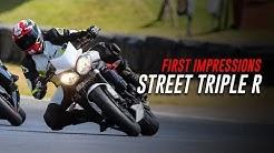 New Bike Impressions: 2014 Street Triple R Track Review