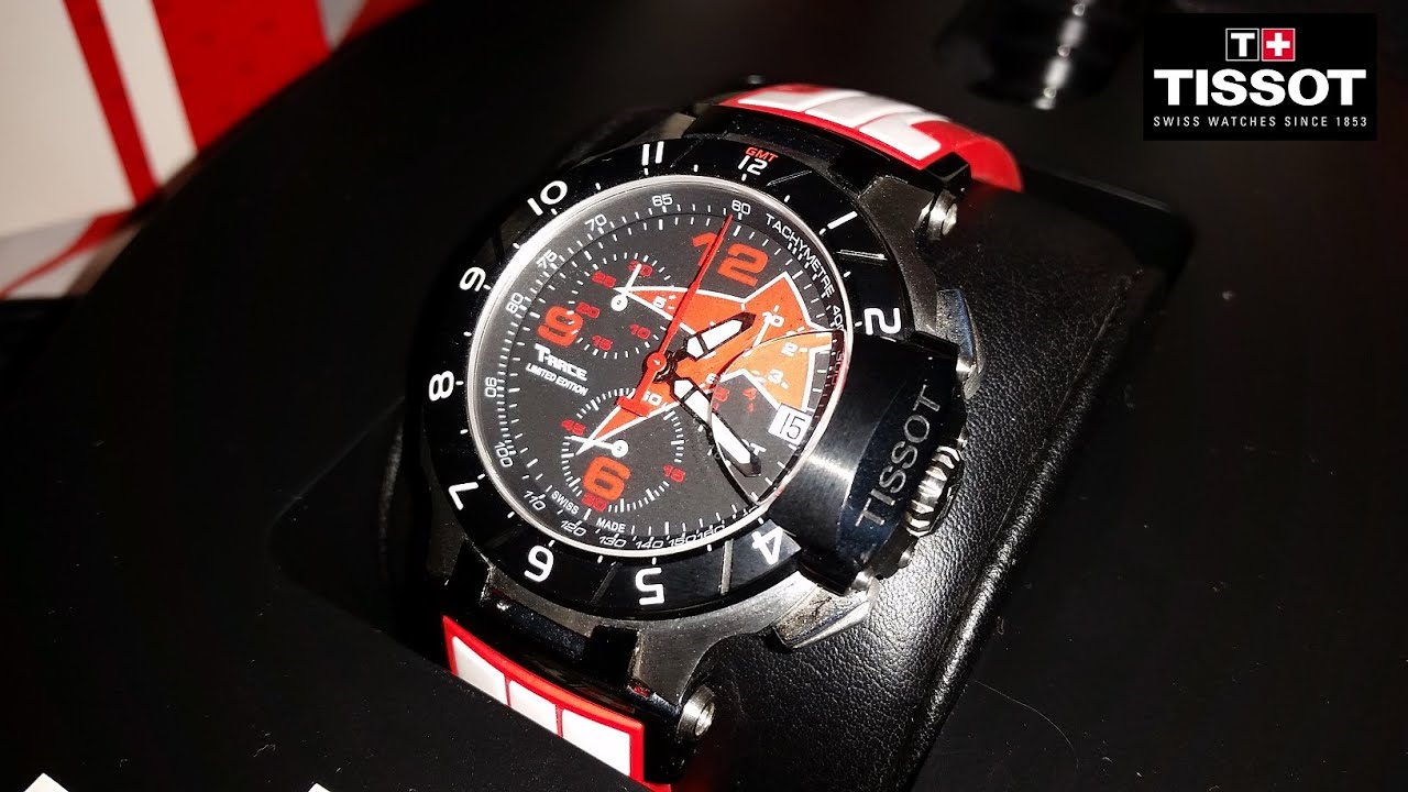 d8ab6052354 Tissot T-Race Nicky Hayden Chronograph 2012 ⌚☆Limited Edition MotoGP☆