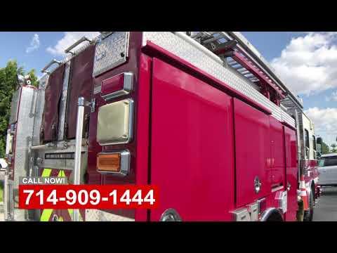 Commercial Truck Body Damage Shop OC California