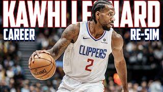 "Kawhi ""THE KLAW"" Leonard's Full Career Re-Simulation! NBA 2K20"