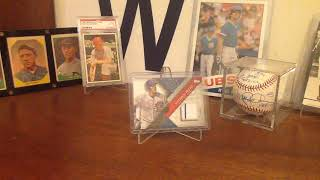 Baseball Collection Update! How I organize my cards!